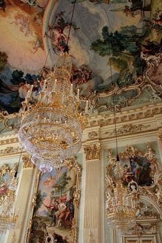 Exploring Nymphenburg Palace Munich – The World Is A Book Architectural details inside Nymphenburg Palace in Munich, Germany. I've actually been there! Munich is a Paradise for palace-lovers Baroque Architecture, Beautiful Architecture, Architecture Details, Poster Art, Gold Aesthetic, Aesthetic Bedroom, Travel Aesthetic, Princess Aesthetic, Coffee Art