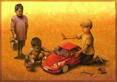 the_car_52465.jpg (500×353) Anche nei giochi le differenze razziali e sociali.