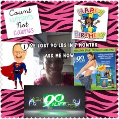 """Hey my biz partner lost 90 lbs in 7 months today she is 49!!!! I love her and pray for her continued success! Wanna know how she did it? Text me at 713-853-9323 with  """"how did Lenci do it""""  And we will show you how! Much love, Janetta"""