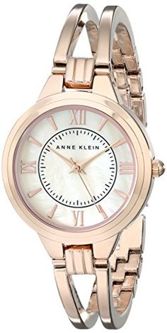 8c3e4b3b9df Great gift idea Anne Klein Women s AK 1440RMRG Rose Gold-Tone Bangle Watch  Cute. 101 Best Watch Brands