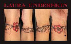 tattoo bracelet dentelle - Recherche Google