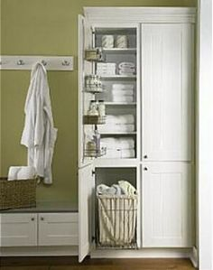 1000 Images About Bathroom On Pinterest Open Shelving Linen Closets And In Bathroom