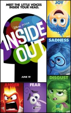 Inside Out - New Trailer from Disney/Pixar #InsideOut - I watched the trailer this morning and laughed myself silly!! You have to watch! Hits theaters in June 2015
