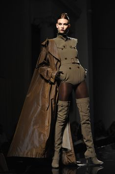 Jean Paul Gaultier Couture, Fall 2009  // Karlie Kloss' Best Runway Looks | stylebistro.com