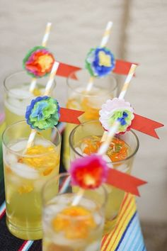 how adorable are these straws!!! 23 Recipes To Celebrate Dia De Los Muertos / Day Of The Dead