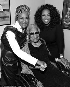 Cicely Tyson, Maya Angelou and Oprah