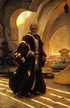 Obi Wan Kenobi by Donato Giancola