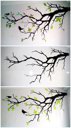 Haz tus propios vinilos para paredes