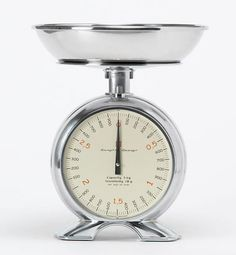 Bengt Ek kitchen scale/clock at MooseMother