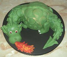 Idea for dragon cake