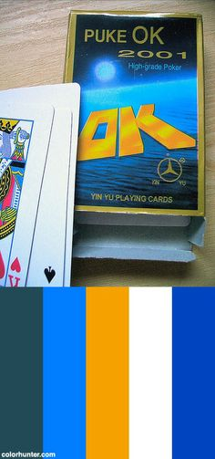 Puke Ok Playing Cards Color Scheme