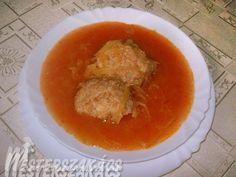 Paradicsomos káposzta húsgombóccal recept