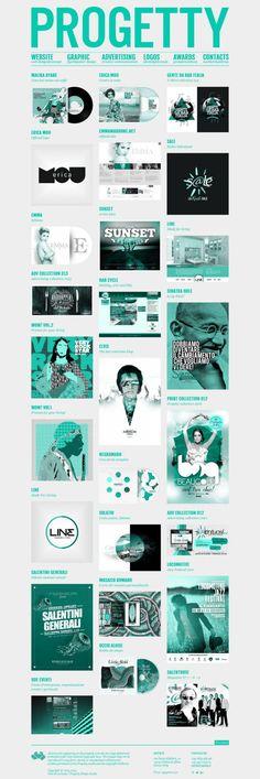 Progetty Creative Design Studio - Webdesign inspiration www.niceoneilike.com