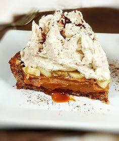 Sans Gluten Sans Lactose, Banoffee, Pie, Gluten Free, Attention, Sweet, Food, Peanut Butter, Gourmet Desserts