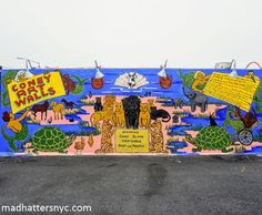 Coney Art Walls Street Art Coney Island - Mad Hatters NYC Blog