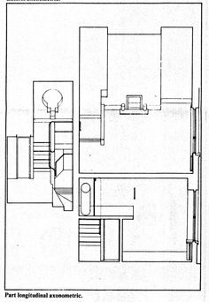 12-Devonshire Close. Axonometric Drawing B