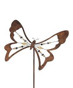 This Butterfly Bobble Stake is perfect! #zulilyfinds