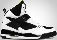 Air Jordan Flight 45 High white black