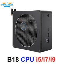 Intel Core CPU Mini PC i5 6568R i7 6785R i7 8750H i5 8300H Mini Computer Desktop Cooling Fan Windows 10 16gb Ram 4K Computer Desktop Computers, Gaming Computer, Brazilian Real, Mini Pc, Pc Parts, Windows 10, Linux, Wifi, Cool Stuff