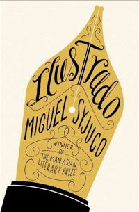 """20 irrefutable theories of book cover design. (Book cover pictured is Miguel Syjuco's """"Ilustrado.""""--Unable to find designer info)"""