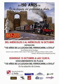 Exposición 150 años de la llegada del ferrocarril a Ávila