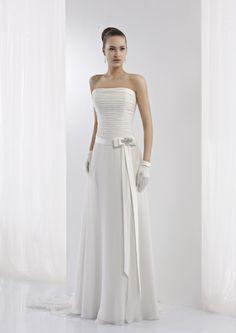 Collezione abiti da sposa #Jolies, abito da #sposa modello JOAB13445IV