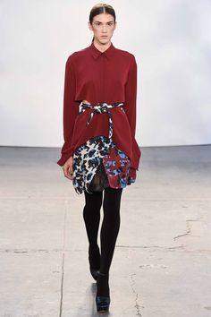 Tanya Taylor, Осень-зима 2015/2016, Ready-To-Wear, Нью-Йорк