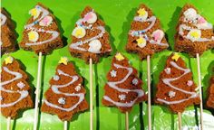 Christmas lunch at school, easy and fast Christmas gingerbread. Christmas Lunch, Christmas Gingerbread, Christmas Cooking, Christmas Treats, Christmas Time, Birthday Treats, Party Treats, Jingle Bell, Catering