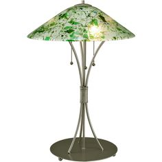 28 Inch H Metro Fusion Times Square Glass Table Lamp - Custom Made