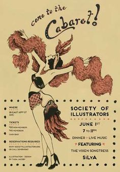 Society of Illustrators Cabaret night
