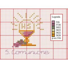punto croce monocolore bagno - Buscar con Google Cross Stitch Quotes, Cross Stitch Bookmarks, Cross Stitching, Cross Stitch Embroidery, Religion, First Communion, Crochet Stitches, Pixel Art, Christening