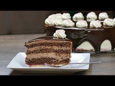 Schoko-Sahne-Torte mit Mirror Glaze   unglaublich schokoladig und lecker...