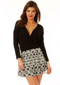Irie Aztec Circle Skirt #myalloy #alloyapparel