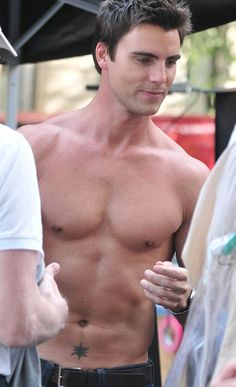 Colin Egglesfield...... love him, plays Evan from the Client list