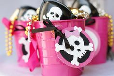 Pirate party for little sweet, yet edgy ladies by http://pinwheellane.etsy.com @Shayna Perez
