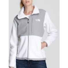 f96e6a2d0c8a The North Face Women s Denali Recycled Polartec Fleece Jacket ALPINE WHITE  SILVER GREY- If Your Looking for Dealz You ve found it ! Check out  DealzSmart.com ...