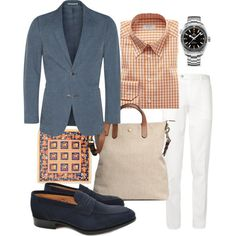 Blazer: SuitSupply Shirt: Eton Trousers: Canali PS: Drake's London  Shoes: Alfred Sargent Bag: Mismo Watch: Omega