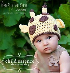 Giraffe Beanie - $3.95 by Tricia of Busy Mom Designs