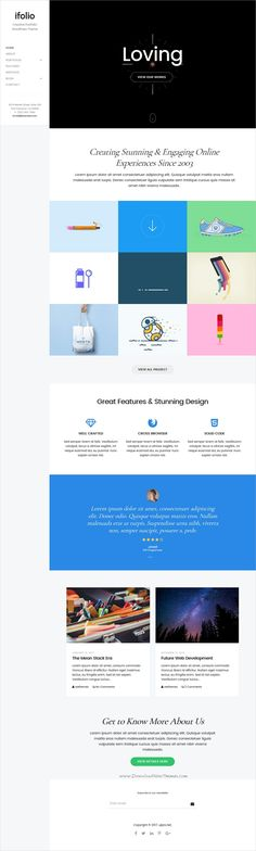 iFolio is clean and modern design responsive #WordPress theme for creative #portfolio showcase website download now➩ https://themeforest.net/item/ifolio-premium-wordpress-theme/19509802?ref=Datasata
