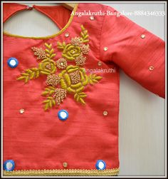 #Angalakruthi- Custom designer boutique in Bangalore #Online order service facility available #International courier facility available