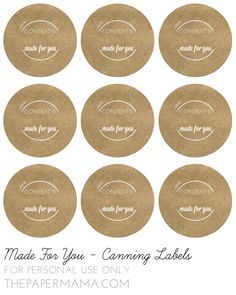 printable labels it s all in the jar pinterest printable
