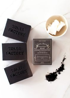 Tokyo Factory charcoal soap Etsy