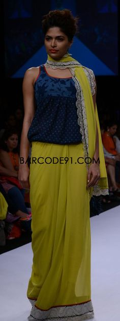 http://www.barcode91.com/ Priyadarshani Rao 'Caravan Serai Collection at Lakme Fashion Week Winter /Festival 2013