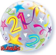 22 21 Brilliant Stars Plastic Bubble Balloons -- Want to know more, click on the image.  This link participates in Amazon Service LLC Associates Program, a program designed to let participant earn advertising fees by advertising and linking to Amazon.com.