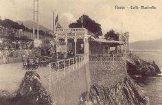 NERVI - Caffè Marinella - FOTO STORICHE CARTOLINE ANTICHE E RICORDI DELLA LIGURIA