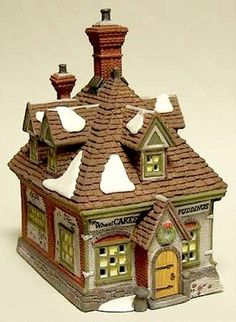 DEPT 56 DICKENS VILLAGE WM. WHEAT CAKES  PUDDINGS RETIRED IN BOX NEW I would love to get this little gem.