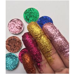 Gepresste Glitter Lidschatten