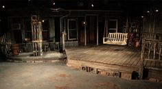 Southern Comfort. Barrington Stage Company. Scenic design by James Fenton. 2013