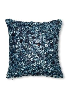 I'm not sure how practical a button-covered pillow would be, but I adore the look of it! - sOUP Home Button Shell Pillow Sham at MYHABIT