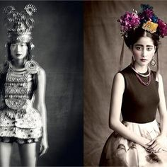 'Multi-Ethnic Gallery' by Paolo Roversi for Vogue Italia January 2013